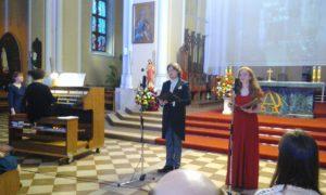 Выступление Ильи Ушуллу и Светланы с органом