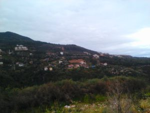Вид на деревенскую Аланию