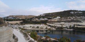 Известняковый карьер рядом с Монастырской скалой