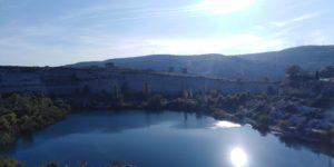 Озеро в Инкерманском карьере