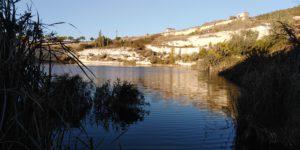 Озеро в карьере
