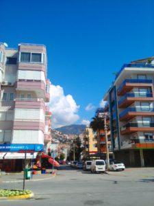 Улица в Алании
