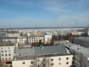 2010.04.11 Вид с крыши центра оказания услуг населению на Залив