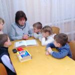 Урок русского языка и литературы у первоклашек