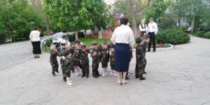 Дети готовятся к концерту