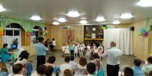 Один из номеров на концерте ко дню рождения общины